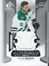 2015-16 SP Game Used TYLER SEGUIN #AS-15 NHL All Star Skills Fabrics Jersey