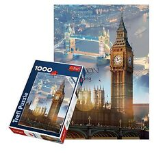 Trefl 1000 Piece Adult London Large Big Ben Tower Bridge Floor Jigsaw Puzzle NEW