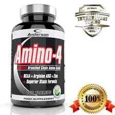 Anderson Amino-4 200 cpr BCAA aminoacidi ramificati con Arginina AKG Zinco VitB6
