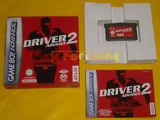 DRIVER 2 Game Boy Advance GBA Versione Italiana »»»»» COMPLETO