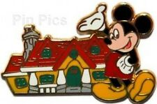 Disney Pin: WDW - In The Parks Mystery Tin - 4 Pin Set (Mickey Only)
