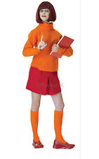 FANCY DRESS COSTUME ~ scooby doo DELUXE VELMA INC WIG