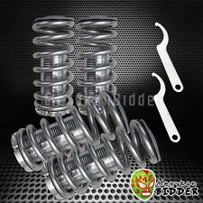 Adjustable 0-3 Suspension Silver Spring Coilover Kit Civic 88-00 EF EG EK DA DC2