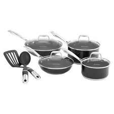 KitchenAid 10 Piece Stainless Steel Culinary Set Cookware KCSS10GOB Black New