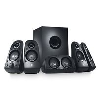 Logitech Z506 Surround Sound Home Theater Speaker System, External TV Speak