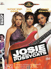 Josie And The Pussycats-2001-Rachael Leigh Cook-Movie-DVD