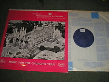 CHOIR OF PETERBOROUGH CATHEDRAL-MUSIC FOR THE CHURCH'S YEAR STEREO UK ABBEY 658