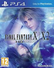 Final Fantasy X-X-2 HD Remaster Standard Edition Sony PS4 Game Brand New