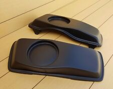 6x5  ROUND SPEAKER LIDS FOR HARLEY DAVIDSON TOURING BAGGERS 1996-2013