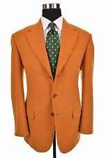 Missoni Made in ITALY Burnt Orange WOOL CASHMERE Blend Sport Coat Jacket 50 40 R