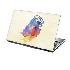 "15.6"" TaylorHe Laptop Vinyl Skin Sticker Decal Protection Cover Funky Lion RF10"