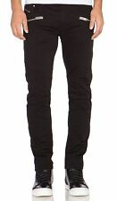 Neuf diesel black biker jeans W32 denim stretch gold fit