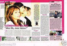 Coupure de presse 2006 (1 page 1/2) Clémentine Celarié