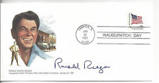 Ronald Reagan 1981 Inauguration Day First Day Cover