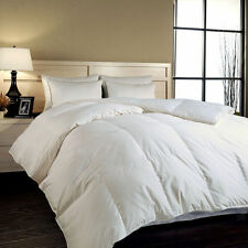 1200TC FULL / QUEEN SIBERIAN GOOSE DOWN Comforter White SOLID, Egyptian Cotton