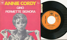 ANNIE CORDY 45 TOURS FRANCE GINO