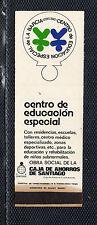 Funda Cerillas de Fosforera Publicidad Centro de educación Especial (CV-456)