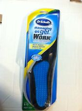 DR.SCHOLL'S MASSAGING GEL WORK MEN SIZE 8-13 SHOES INSOLES * NEW FACTORY SEALED