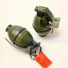 Mini Grenade Shaped Cigarette Cigar Lighter Refillable Butane Gas Flame New Gift