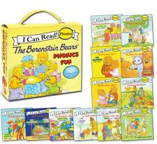 I CAN READ PHONICS FUN Berenstain Bears12 Book Box Set NEW