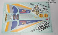 New Tamiya 2015 Monster Beetle 58618 ReRelease Sticker Set 9495866