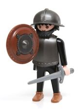 Playmobil Figure Castle Dragon Squad Knight Helmet Breastplate Sword Shield 3329