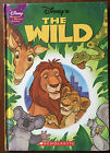 Walt Disney The Wild Hardback Book Wonderful World of Reading USA Scholastic HB