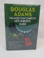 Douglas Adams THE MORE THAN COMPLETE HITCHHIKER'S GUIDE Wings Books 1989 HC/DJ