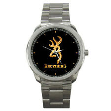 Hot New Browning Custom Sport Metal Wrist Watches New style