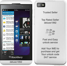 FACTORY Unlock Code BlackBerry Q5 Z10 Q10 Z3 Z3 Q5 9790 9720 AT&T att Clean AT&T
