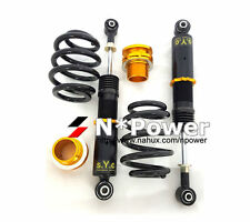 SYC ADJUSTABLE DAMPER COILOVERS REAR PAIR FOR FORD FALCON BA BF XR6 XR8 UTE