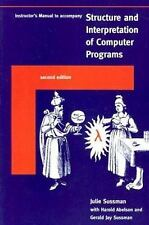 Instructor's Manual ta Structure and Interpretation of Computer Programs - 2nd E