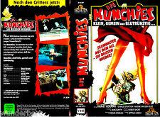"""VHS - """" Die MUNCHIES """" (1987) - Harvey Korman - Nadine Van der Velde"""