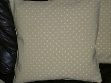 """16"""" CUSHION COVER MADE WITH JOHN LEWIS PROVENCE 'CAMEL' FABRIC--"""