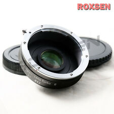Zhongyi Lens Turbo II Focal Reducer Adapter Canon EOS EF mount to Micro 4/3 MFT