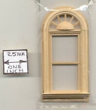 Half Scale Window - Palladian Round Top - 1:24 Dollhouse wooden H5043 Houseworks