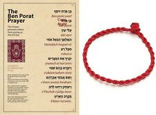 RED STRING & Ben Porat PRAYER ~ ~ ~ ~ ~ against ayin horah negative influences