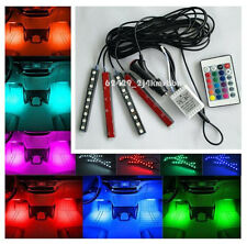 Full Color LED Glow Lights Interior Under Dash Footwell seat Kit for Chevy Tahoe