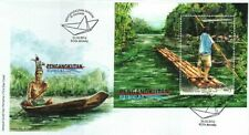 Malaysia 2016 River Transportation in Sarawak ~ MS-FDC