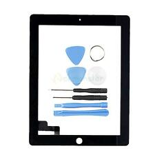 New Touch Screen Glass Digitizer Replacement + Part for iPad 2 Black + Tools