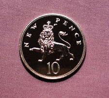 1975 PROOF 10p COIN - Florin Size Coin