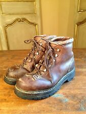 Vintage By Fabuano Mountaineering Hiking Boots Womens 7 M Italy