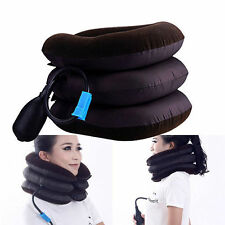 Inflatable Air Neck Shoulder Pain Cervical Traction Headache Back Relief Comfort