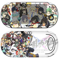 POPSKIN Skin Decal Stickers For PS VITA Original 1st Gen PCH-1000 SENRAN #02