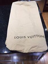 Authentic Louis Vuitton Drawstring Storage Suitcase Luggage Dust Bag Extra Large