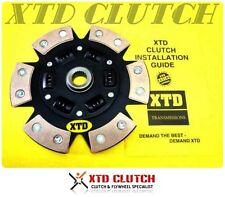 XTD 6 PUCK STAGE 3 CLUTCH DISC 87-92 SUPRA TURBO 7MGTE