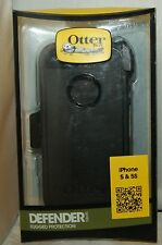 New!Otterbox Defender Series case for Iphone 5S with Holster Clip Black 77-33322