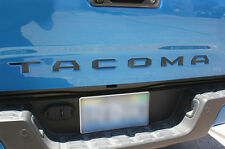Custom Acrylic Tailgate Letter Inserts for Toyota Tacoma TRD Pickup Parts 2016
