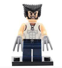 Custom Wolverine Minifig Marvel UK Seller - - B4