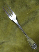 fourchette à gateau metal argente christofle Vendome coquille (pastry fork)